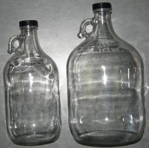 Jug Glass 1 Gallon Clear The Valley Vintner