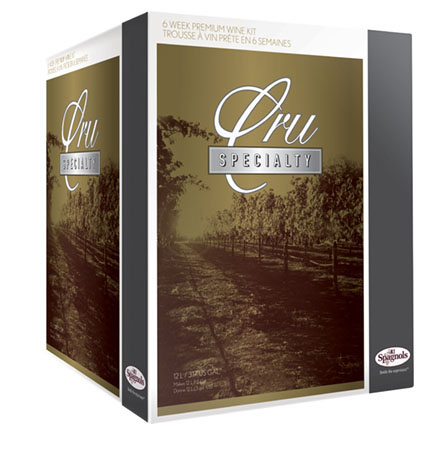 Specialty Wine Kits from RJ Spagnols